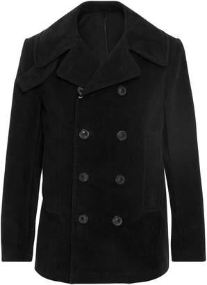 Maison Margiela Double-Breasted Cotton-Felt Coat