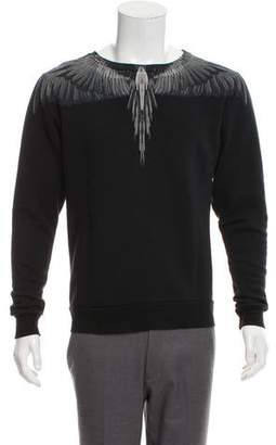 Marcelo Burlon County of Milan Graphic Crew Neck Sweatshirt