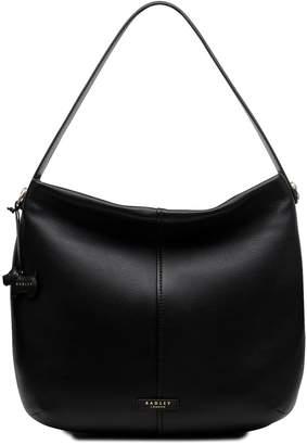 Next Womens Radley Black Large Hobo Zip Top Bag