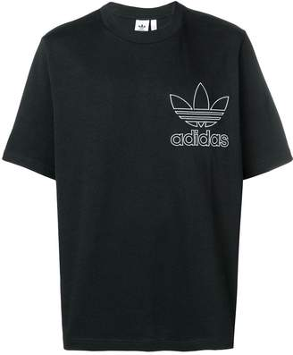 adidas embroidered logo T-shirt