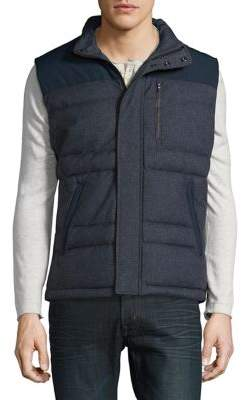 Brooks Brothers Red Fleece Quilted Two-Tone Jacket