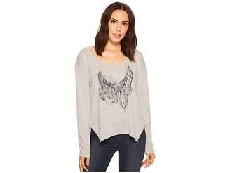 Roper 1427 Scoop Neck Long Sleeve Sweater Women's Clothing