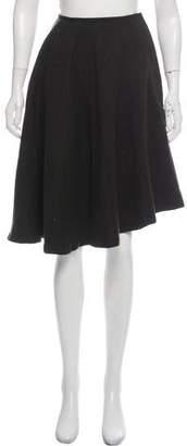 Dries Van Noten Wool Flare Skirt