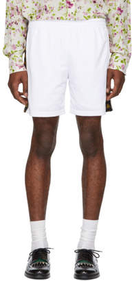Faith Connexion White Kappa Edition Logo Shorts