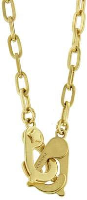 Foundrae 16-in. Small Clip Guard Necklace - Yellow Gold