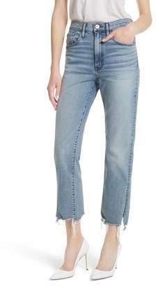 3x1 NYC W3 Higher Ground Side Split Ankle Straight Leg Jeans