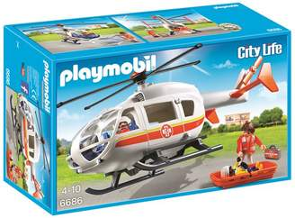 Playmobil City Life Emergency Medical Helicopter