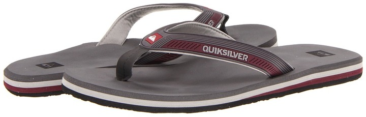 Quiksilver Kauai (Blue/Black/Grey) - Footwear