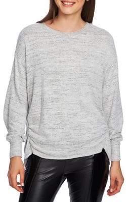 1 STATE 1.STATE Heathered Crewneck Sweater