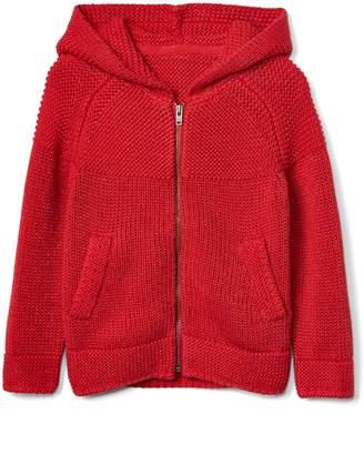 Gap Lurex raglan zip hoodie