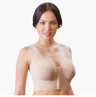 Annette Women's Wireless Front Close Longline Recovery and Sleep Bra
