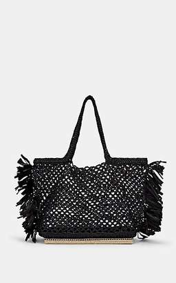 Altuzarra Women's Espadrille Large Raffia Tote Bag - Black