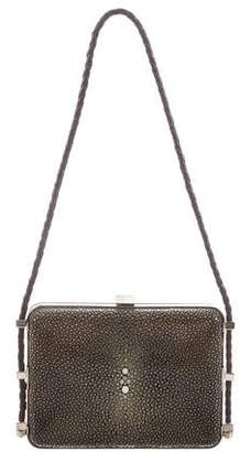Cartier Shagreen Evening Clutch