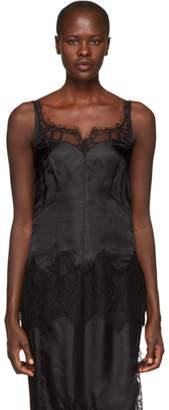 Helmut Lang Black Lace Slip Camisole