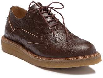Australia Luxe Collective Lord Crocodile Embossed Genuine Shearling Lined Oxford