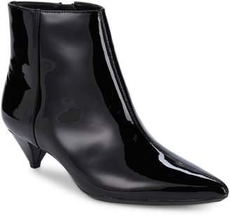 Calvin Klein Larissa Patent Leather Booties