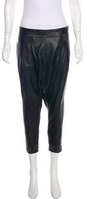 Thomas Wylde Leather Harem Pants