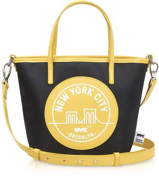 Meli-Melo Brooklyn Yellow Paige Mini Tote Bag