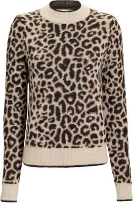 Veronica Beard Marly Leopard Sweater