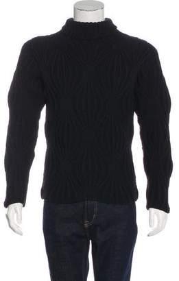 Gucci Chunky Merino Wool Turtleneck Sweater