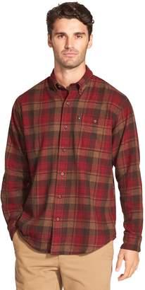 G.H. Bass Men's Fireside Classic-Fit Plaid Flannel Button-Down Shirt