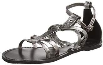 Black Lily NAJA Sandal, Women's Open Toe Sandals,(39 EU)