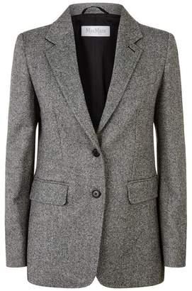 Max Mara Tweed Blazer