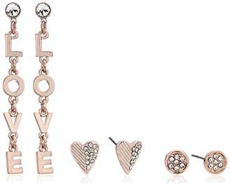 BCBGeneration BCBG Generation Love' Linear and Heart Stud Earrings Set