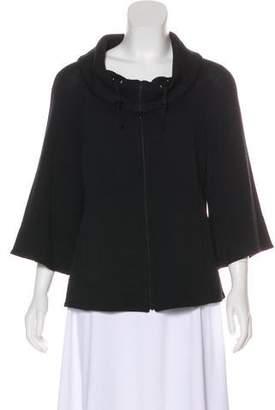 St. John Knit Cowl Neck Jacket
