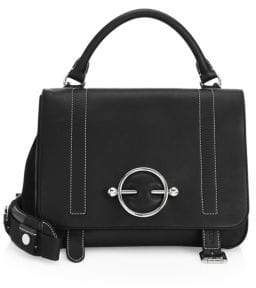 J.W.Anderson Disc Buckle Leather Satchel