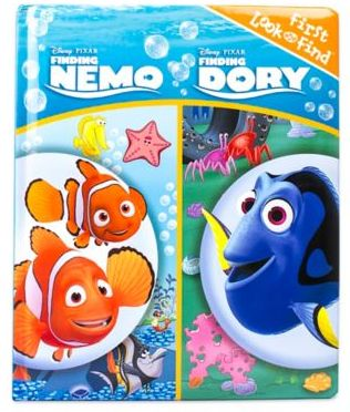 Disney® Pixar's Finding Nemo Finding Dory First Look and Find Book