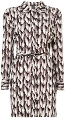 Norma Kamali knit printed tunic
