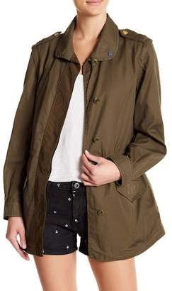 Scotch & Soda Detachable Sleeve Army Jacket