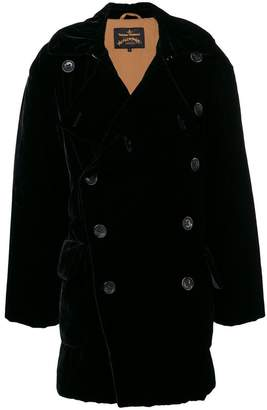 Vivienne Westwood double breasted midi coat