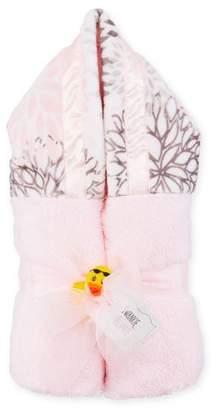 Swankie Blankie Blooms Hooded Towel, Pink