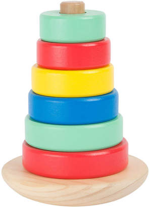 Little Baby Company Wobbly Wooden Stacking Toy