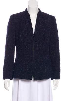 Lafayette 148 Boucle Long Sleeve Jacket