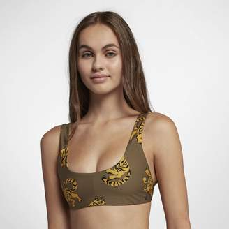 Hurley Quick Dry Tiger Womens Reversible Surf Top