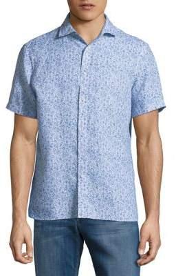 Black & Brown Black Brown Sea Cotton Button-Down Shirt