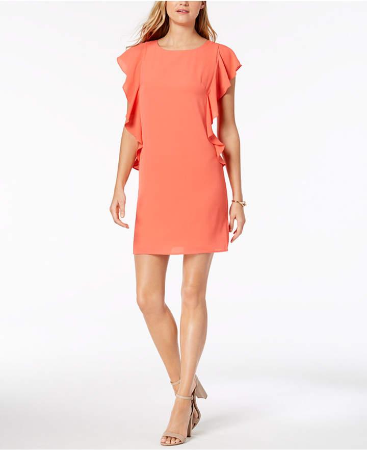 Jessica Howard Petite Ruffled Sheath Dress