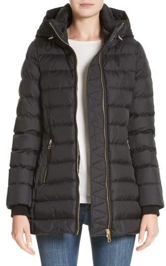 Women's Burberry Limefield Hooded Puffer Coat