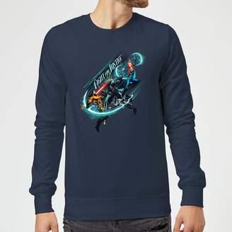 Justice Dc Comics Aquaman Fight For Sweatshirt