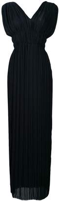 P.A.R.O.S.H. v-neck palazzo dress