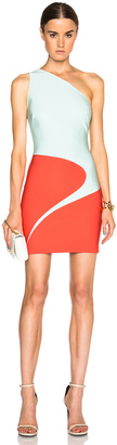 Mugler Mega Milano Mini Dress $1,690 thestylecure.com