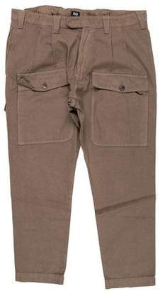 Dolce & Gabbana Pleated Cargo Cropped Pants
