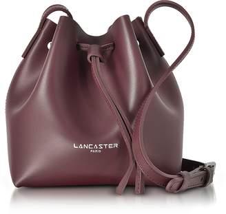 Lancaster Paris Pur Smooth Leather Mini Bucket Bag