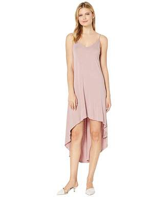 American Rose Riley Spaghetti Strap High-Low Dress