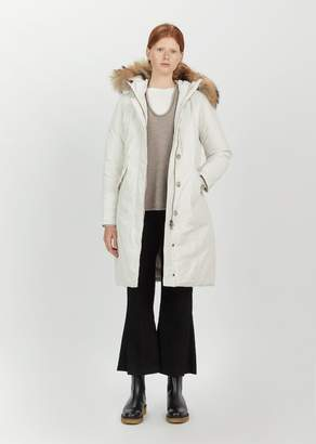 Woolrich Luxury Long Parka White Igloo
