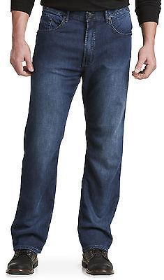 Buffalo David Bitton Buffalo David Bitton Dark Wash Knit Jeans Casual Male XL Big & Tall