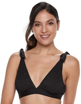 Apt. 9 Women's Apt.9 Tie-Shoulder Bikini Top